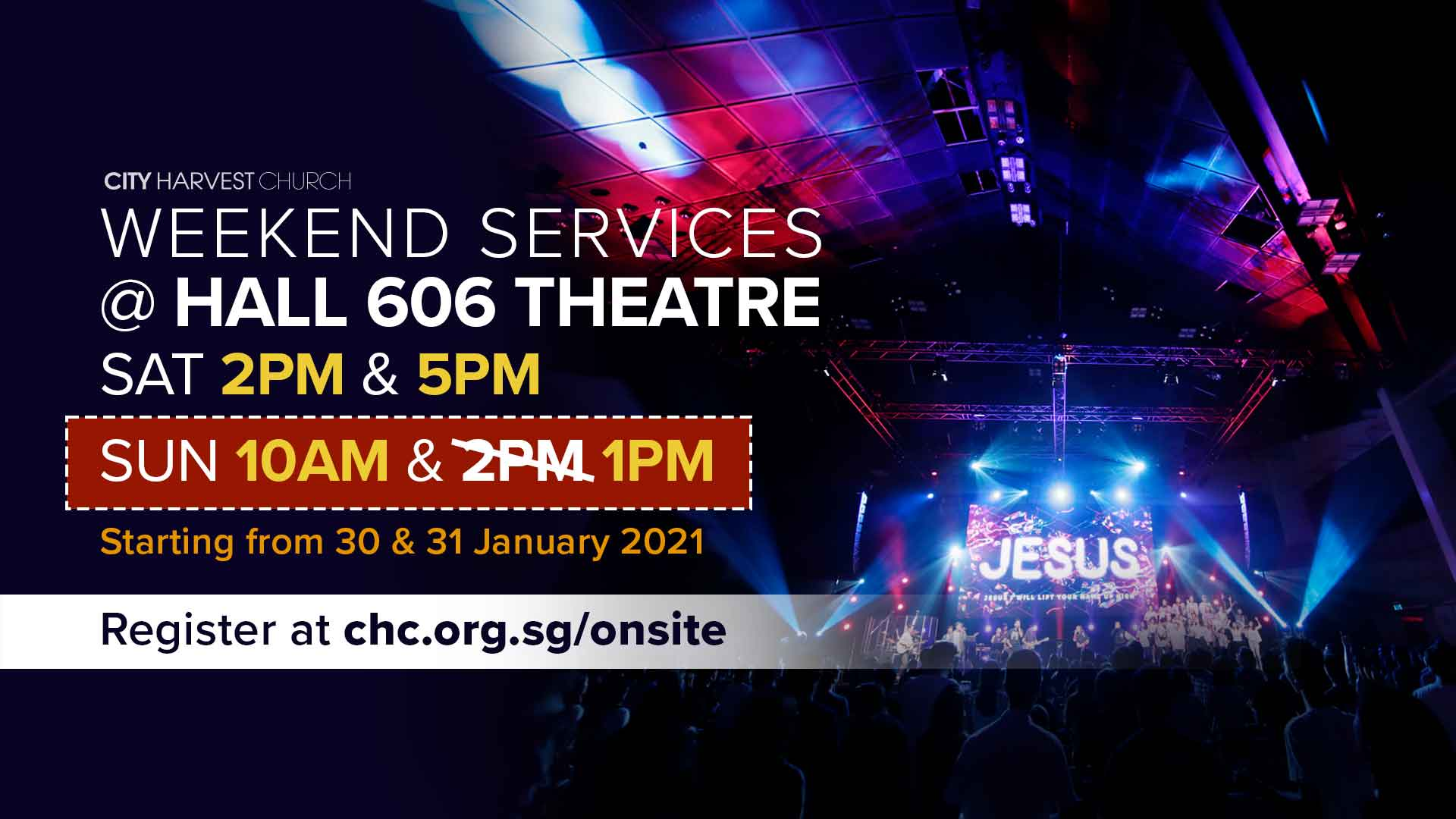 Weekend Services
